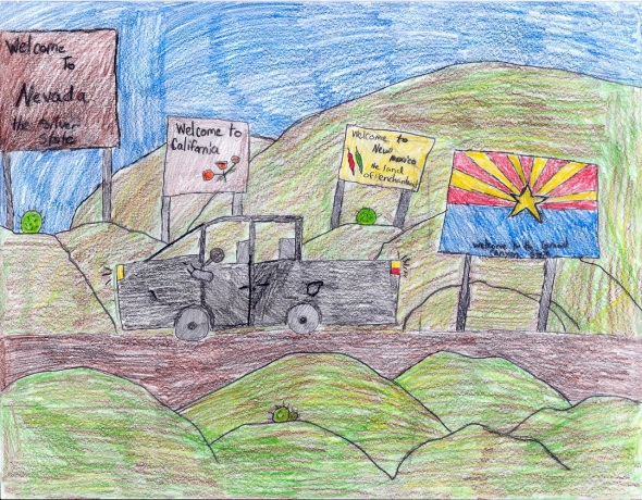 Katie Fox, Grade 6 - Second Place, grade 4-6