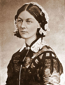 Florence Nightingale. This media file is in the public domain in the United States. This is a file from the Wikimedia Commons.