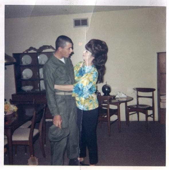 """""""Craig and mom""""  November1968"""
