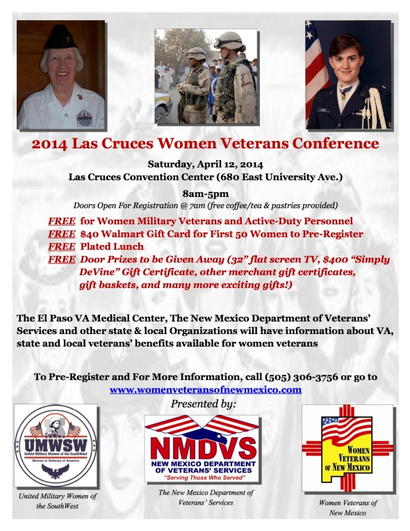 Apr. 12-Las Cruces Womens Conference (FLYER)