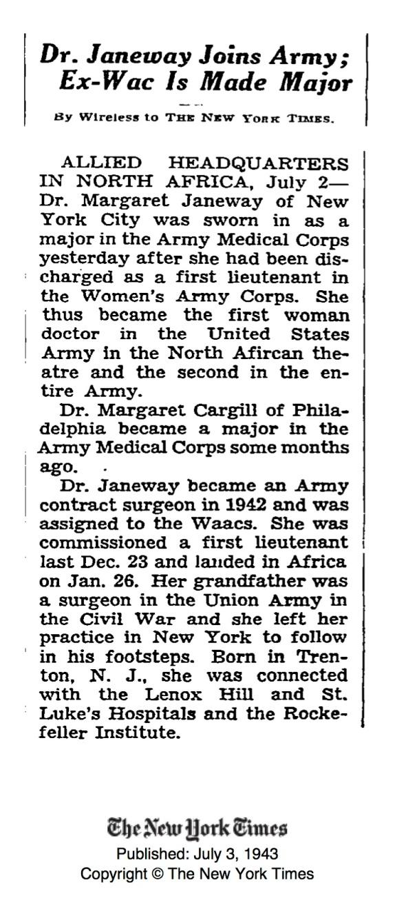 Women_DrMrgrtJaneway_1940s_NYT87421244