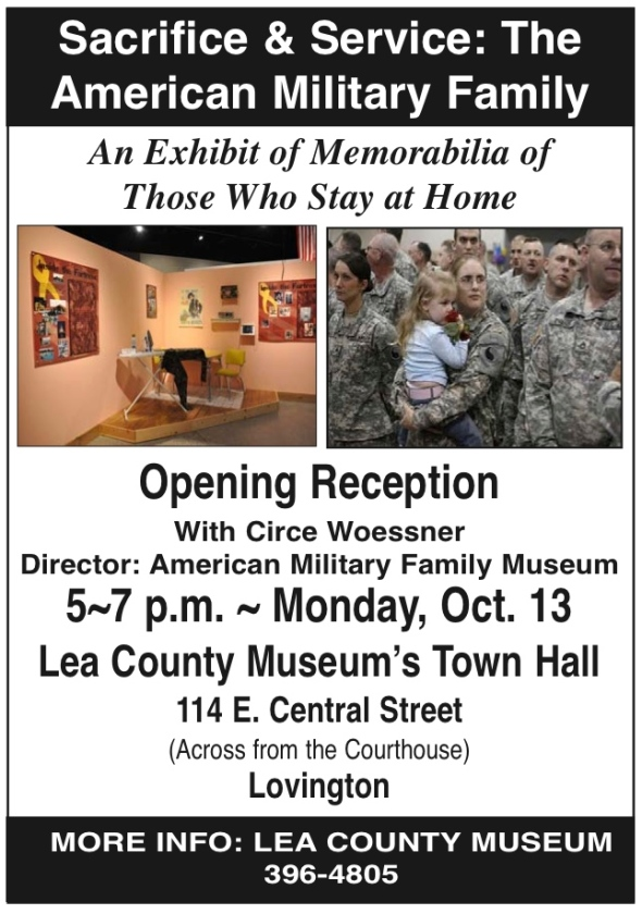 Lea County Museum MIlitary Families Museum 2-15