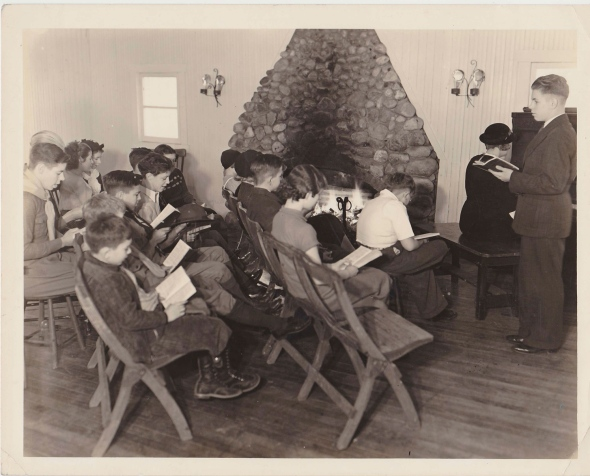 ISunday school class at Selfridge Field  1938MG0141123_0009_NEW